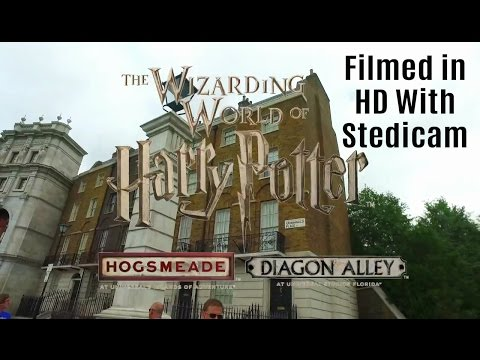 Harry Potter Universal Orlando A Walking Tour Of The Wizarding World of Harry Potter (NEW HD)