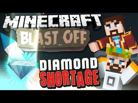 Minecraft Mods - Blast Off! #86 DIAMOND SHORTAGE