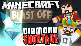 Minecraft Mods - Blast Off! #86 DIAMOND SHORTAGE