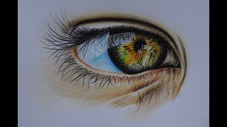 Рисунок карандашом. Глаз. Курс визажист. Обучение визажу