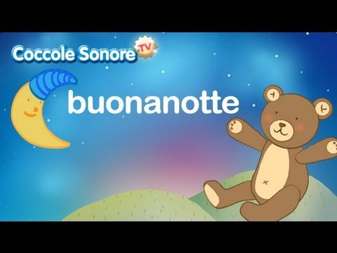 Brahms Lullaby Italian Songs For Children By Coccole Sonore
