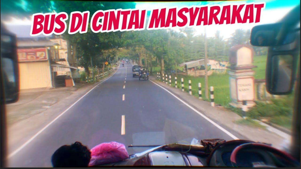 Bus ini Disukai Penumpang   Bima - Lombok PO Tiara Mas Anti Topi Club Tembus Pandang