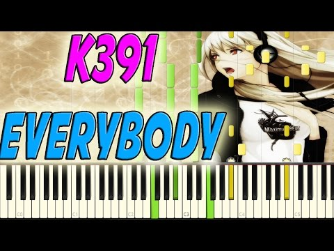 K391 - Everybody piano cover + midi file (Synthesia)