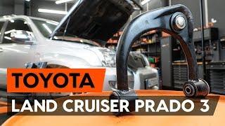 Wie TOYOTA LAND CRUISER (KDJ12_, GRJ12_) Bremsbelagsatz Scheibenbremse austauschen - Video-Tutorial