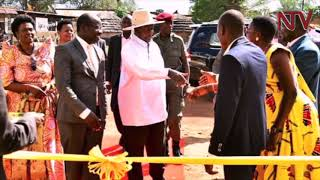 President Museveni launches radio station in Agago