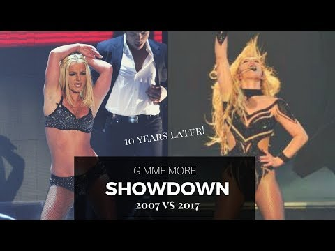 Gimme More [2007 VMAS vs 2017 JAPAN] | DANCE SHOWDOWN | Britney Spears