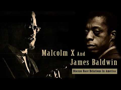 Malcolm X & James Baldwin Discuss Race Relations in America | 1961