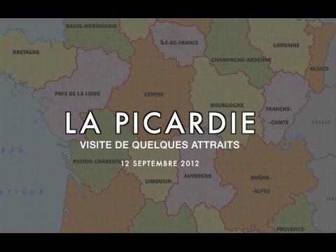 Excursions en Picardie, province au Nord de la France : 1 de 2