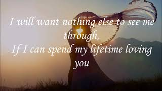 Marc Anthony and Tina Arena - I Want to Spend My Lifetime Loving You (lyrics)