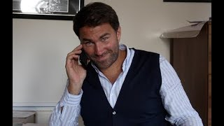 EDDIE HEARN RAW - ON $1 BILLION DEAL, JOSHUA-WILDER PROGRESSION, WHYTE/PULEV/ORTIZ, BELLEW-WARD