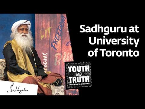 Sadhguru at University