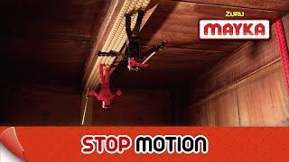Mayka | Epic Ninja Stop Motion Movie | Ninja Battle with Toy Block Tape!