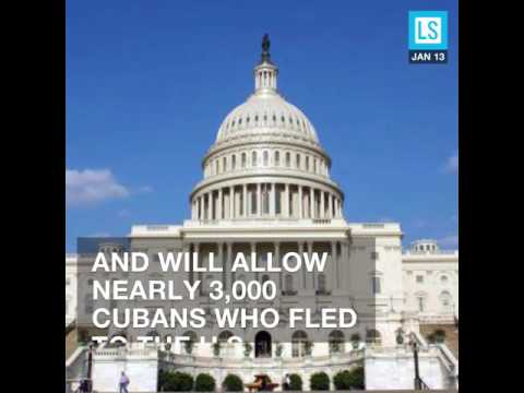 Obama Ends Special Asylum Rule for Cuban Migrants