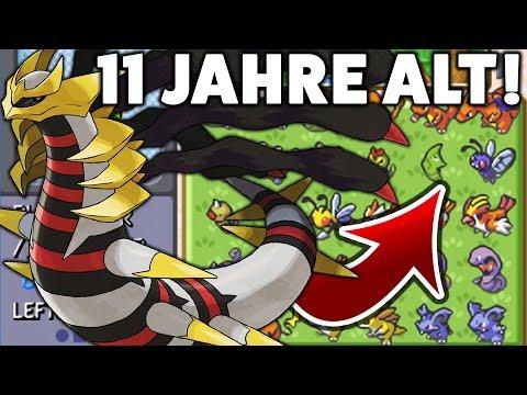 11 JAHRE ALTER POKÉMON PLATIN SPIELSTAND!