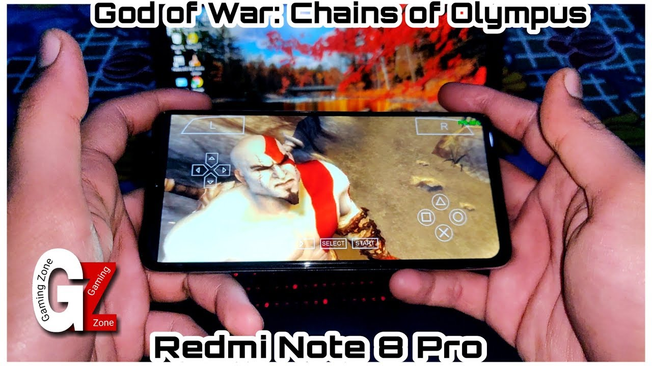 Download God of War: Chains of Olympus Gameplay in Redmi Note 8 Pro   Helio G90T 😱