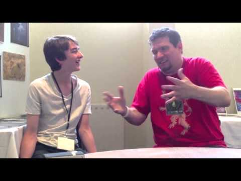 Isaac Hempstead-Wright Interview TitanCon 2013