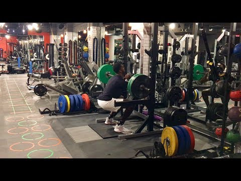 Bobby Portis Front Squats