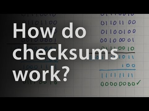 Checksums and Hamming distance