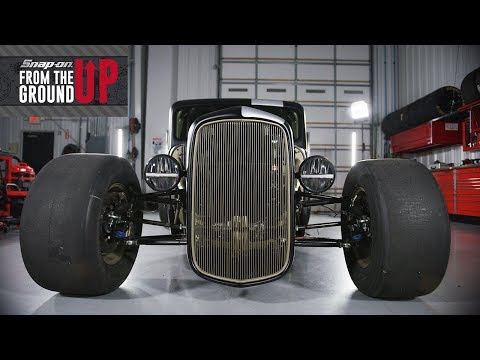 Joey Logano and Team Snap-on Builds a 1935 Factory Five Hot Rod Truck | Snap-on From the Ground Up
