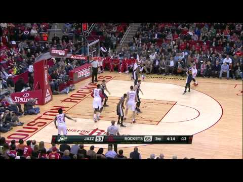 Utah Jazz vs Houston Rockets | January 10, 2015 | NBA 2014-15 Season