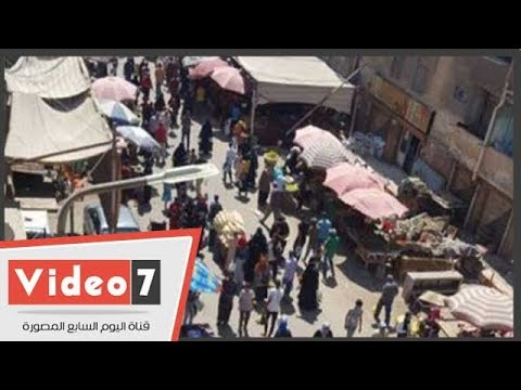 الباعة الجائلون يحتلون محطة مترو فيصل.. والمواطنون:أنقذونا  - 12:22-2018 / 8 / 1