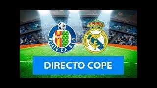 (SOLO AUDIO) Directo del Getafe 0-3 Real Madrid en Tiempo de Juego COPE