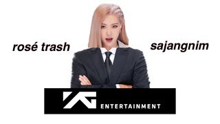 how i'd save YG entertainment