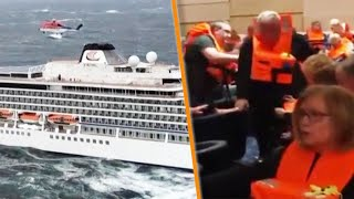 Passengers Rescued From Stranded Norwegian Cruise Ship