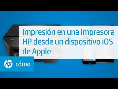 Impresión en una impresora HP desde un dispositivo iOS de Apple | HP Printers | HP