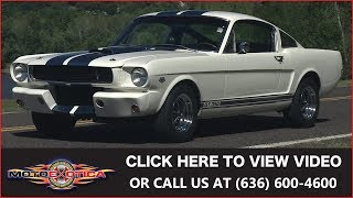 1966 Shelby GT350 Replica || SOLD