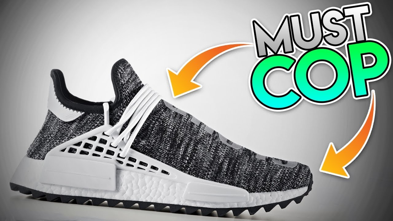 9cb90a1db  INSANE  THIS IS THE BEST ADIDAS PHARRELL NMD HUMAN RACE TO RELEASE YET!!!  ( SNEAKER RELEASE INFO! )