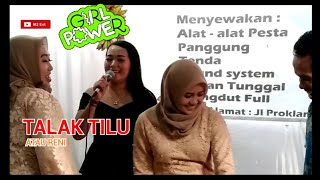 Download Video TALAK TILU Cover Reni | Rampak Gendang  dangdut sukabumi MP3 3GP MP4