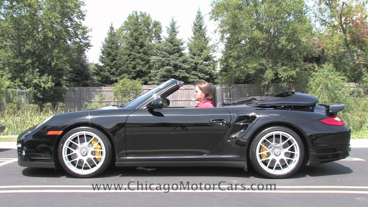 Porsche 911 Turbo S Cabriolet Chicago Motor Cars Video Test Drive