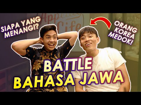 BATTLE BAHASA JAWA: JEROME VS KOREA REOMIT (JANG HANSOL)