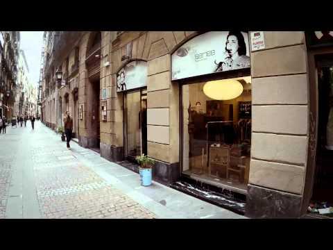 """La Encartada Moda 2015. """"Las Coordenadas de Bilbao"""" a drone film by Jesús Pueyo."""