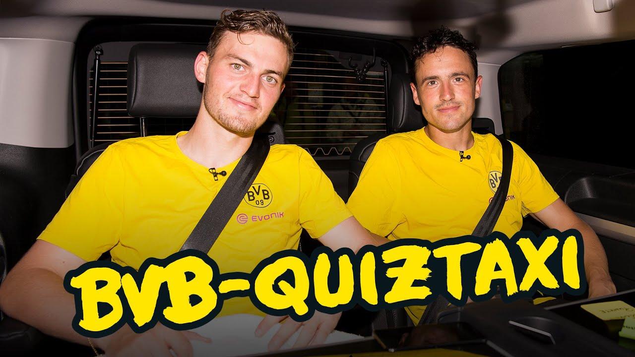 BVB-Quiztaxi in Bad Ragaz - Teil 1 mit Reus/Dahoud, Hummels/Götze & Co.