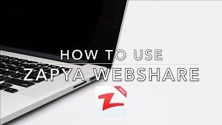 How to Transfer Files on Zapya WebShare screenshot 1