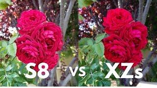 Samsung Galaxy S8 vs Sony Xperia XZs Camera Comparison