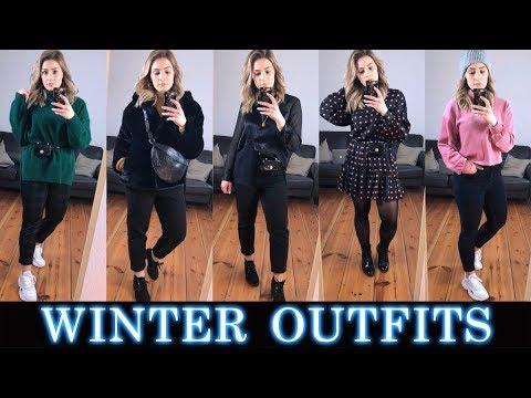 5 WINTER OUTFITS ☃️❄️  Zara |  Asos  |  H&M  | Chiquelle 2