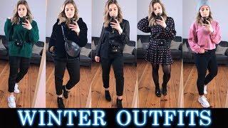5 WINTER OUTFITS ☃️❄️  Zara |  Asos  |  H&M  | Chiquelle