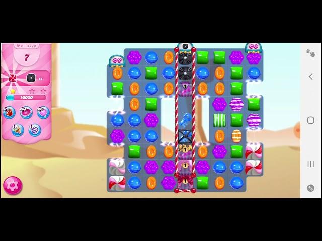 Candy Crush Saga niveau 4770