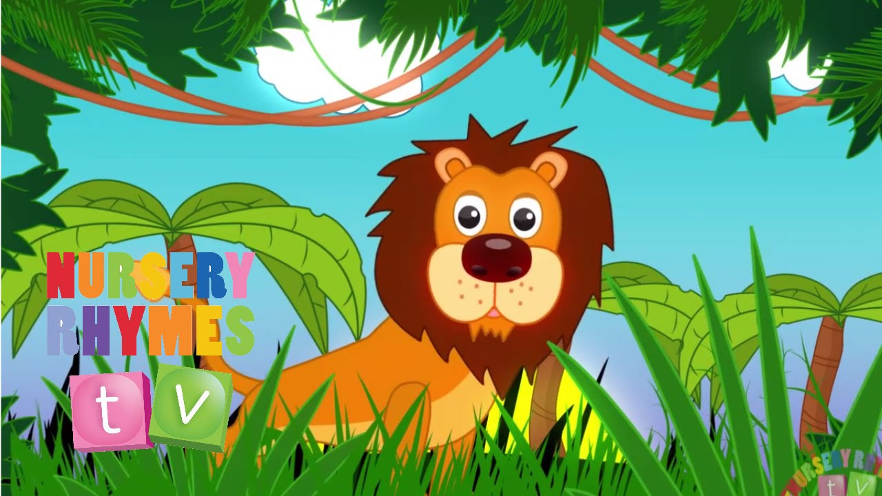 Tiger Girl Wallpaper Animals In The Jungle Nursery Rhymes Tv Toddler