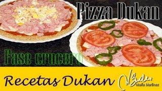 pizza dukan de claudia colaboracin con abcdukan fase crucero dukan diet pizza recipe