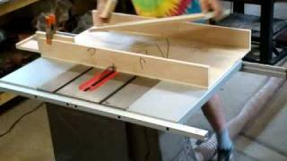 Shop Technique: Diy Panel Cutter For The Tablesaw