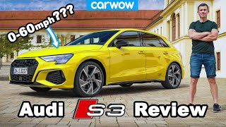 Audi S3 review: 0-60mph + 1/4-mile tested... and almost crashed on Autobahn!?!