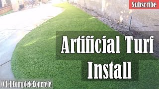 How to Install Artificial Turf DIY Tips