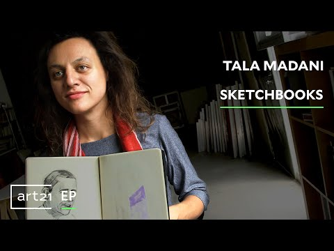 "Tala Madani: Sketchbooks   Art21 ""Extended Play"""