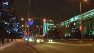 Центральные улицы города будут перекрыты в новогоднюю ночь