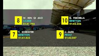 Formula 1 2001 Sepang Malaysian Grand Prix full Race Season Mod F1 Challenge 99 02 game year F1C 2 GP 4 3 World Championship 2013 2014 2015 201626 17 062