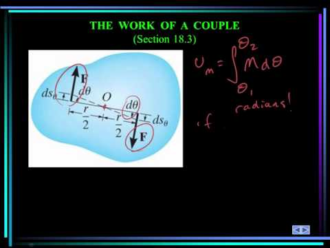 ME 274: Dynamics: Chapter 18.1 - 18.4